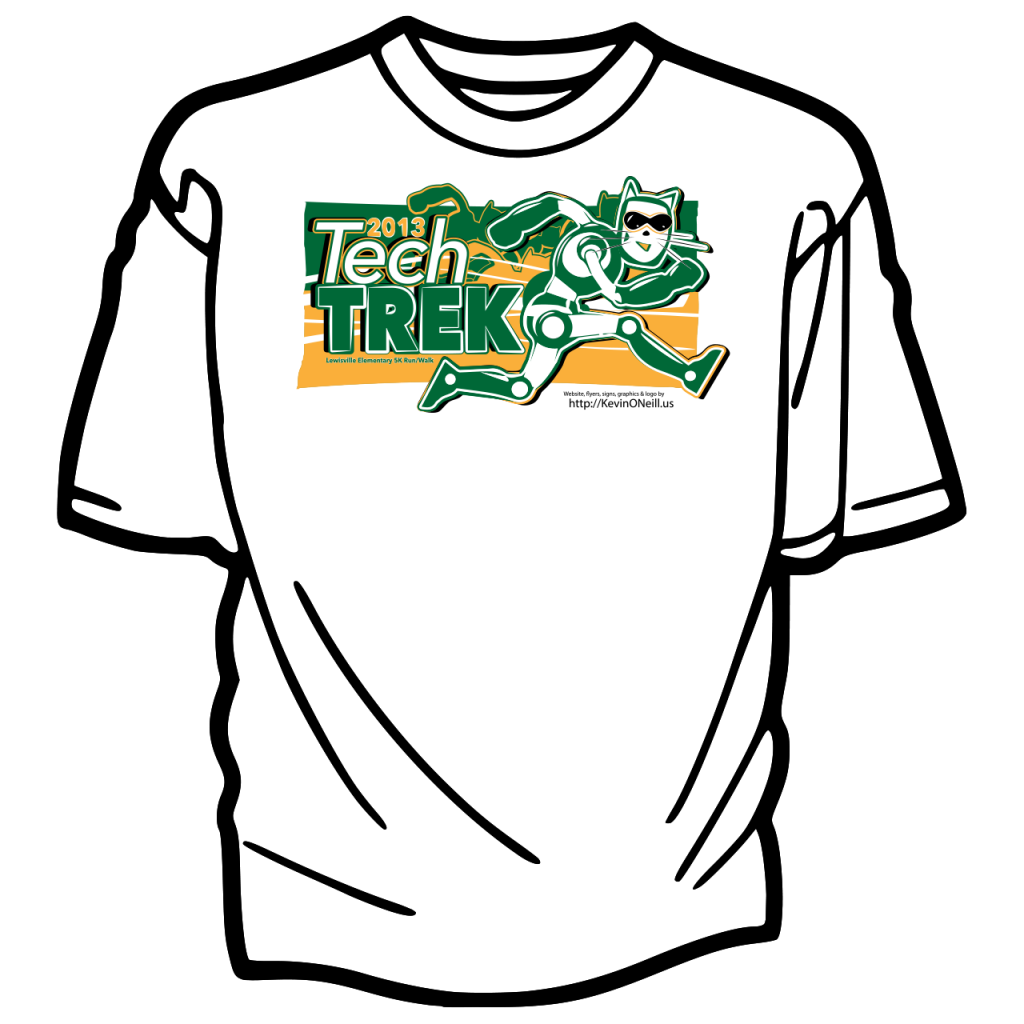 TechTrek2013-T-Shirt