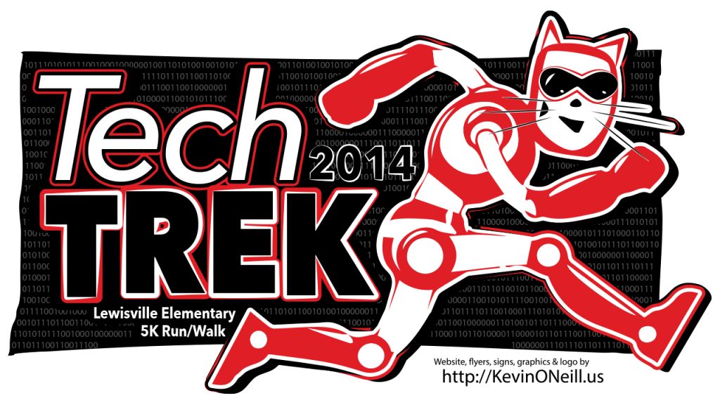 TechTrek2014-T-Shirt-Art