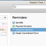 Apple Reminders now has lists